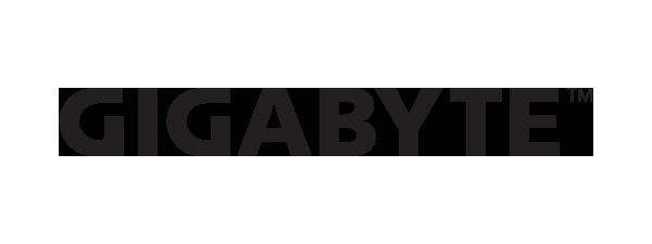 Logo Gigabyte - 600 x 225 pixel