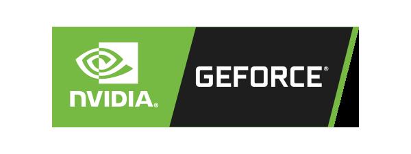 Logo Nvidia Geforce - 600 x 225 pixel