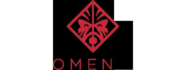 Logo Omen by HP - 600 x 225 pixel