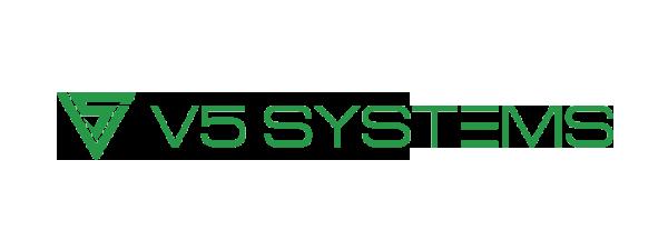 Logo V5 Systems - 600 x 225 pixel