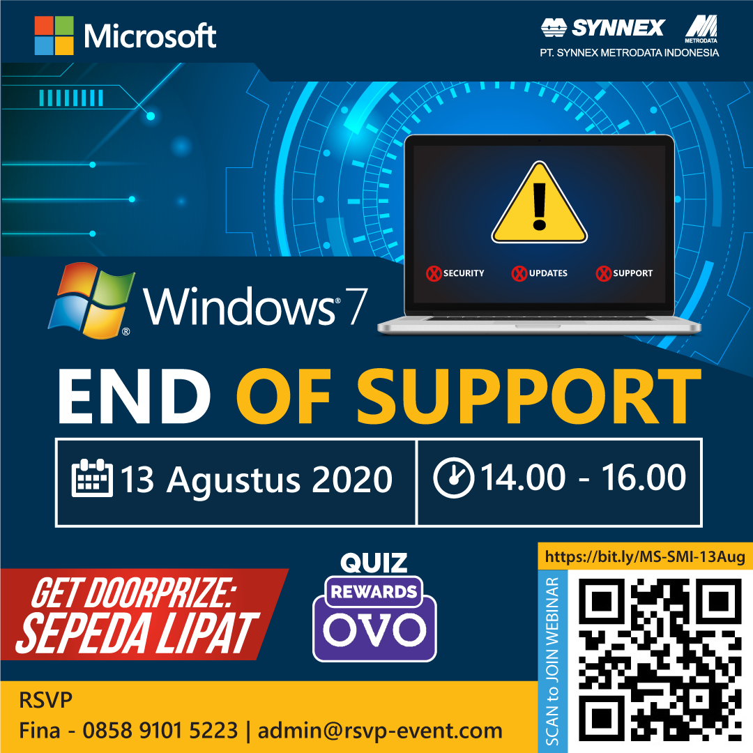 Microsoft Webinar: Windows 7 End Of Support